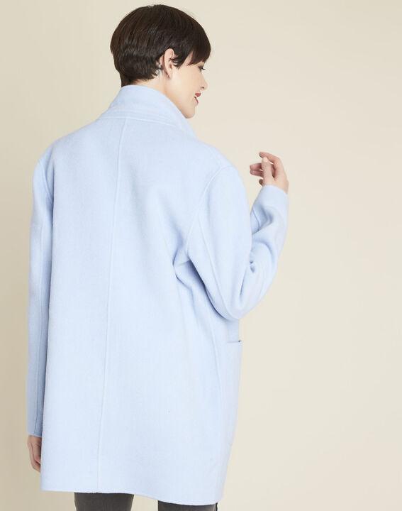 Manteau bleu azur Elea (4) - 1-2-3