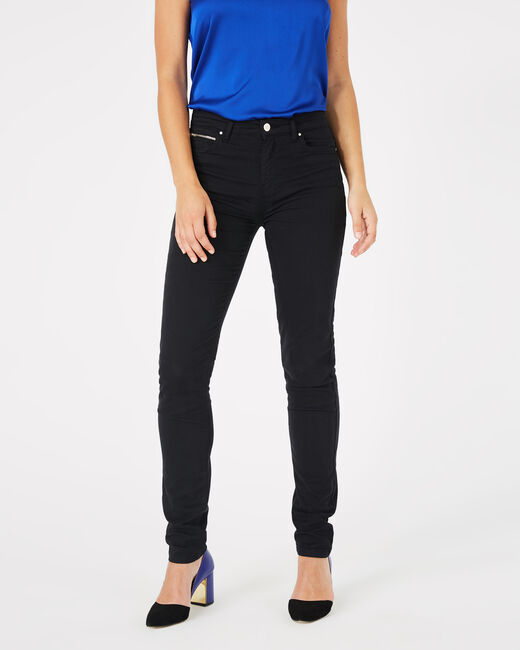 Pantalon satin noir William (1) - 1-2-3