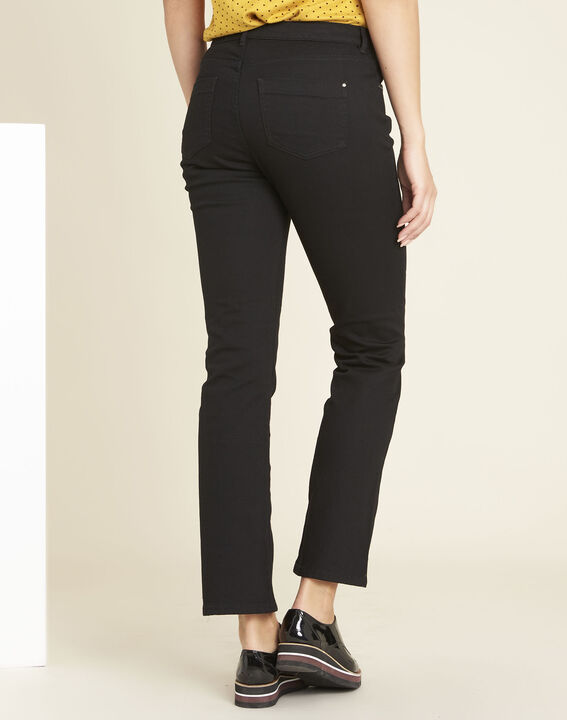 Victor black flared jeans with studded detailing on the pockets (4) - 1-2-3