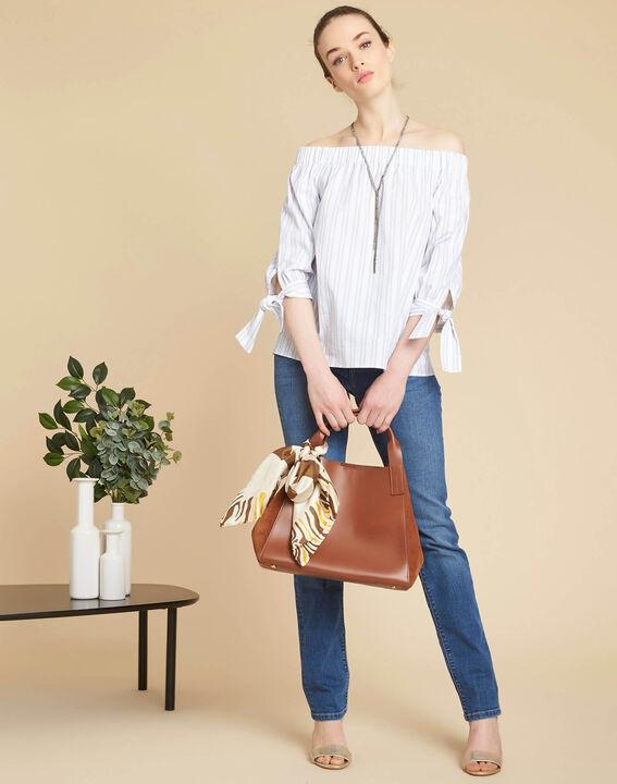 Indigo spijkerbroek met recht model Vivienne (2) - 37653
