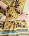 Gele blouse met bloemenprint Enrica (3) - 37653