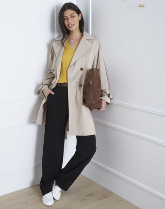 Trench camel dean camel clair.