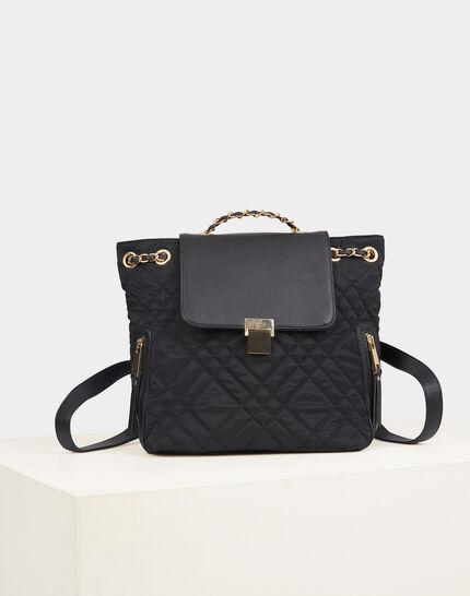 Rachel black quilted bag (2) - 1-2-3