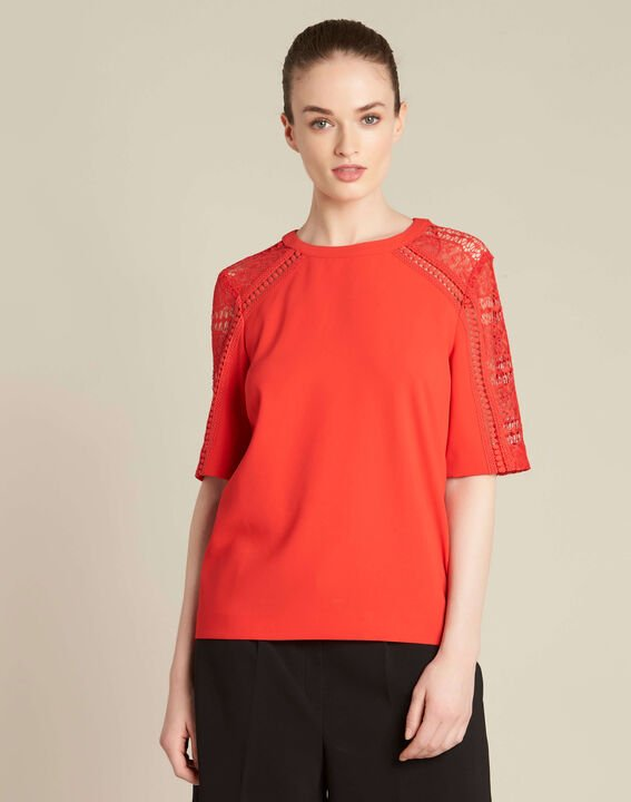Gastel red lace top (3) - 1-2-3