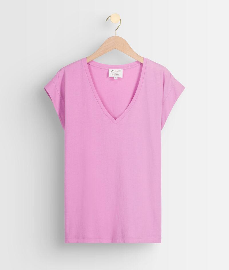 Roze shirt van biokatoen Ideal PhotoZ   1-2-3