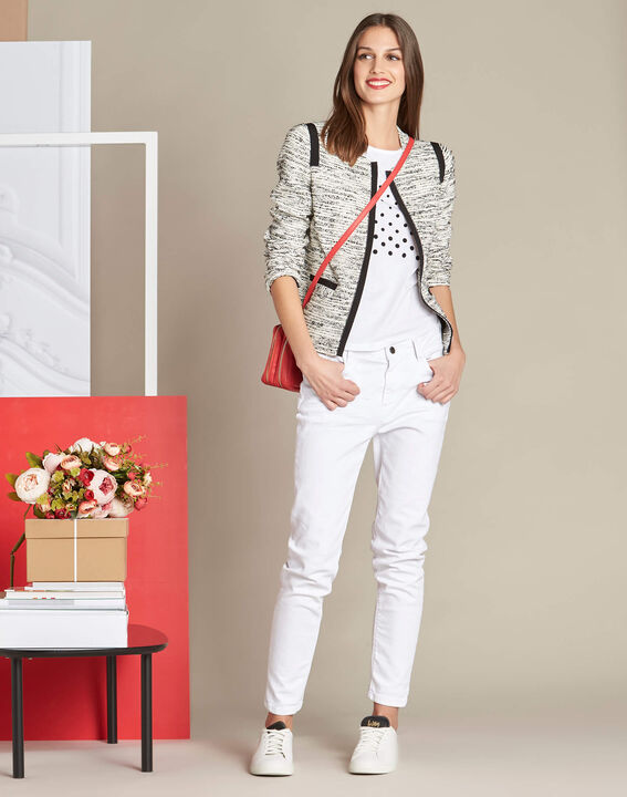 Clelia jacket with grosgrain detailing (2) - 1-2-3