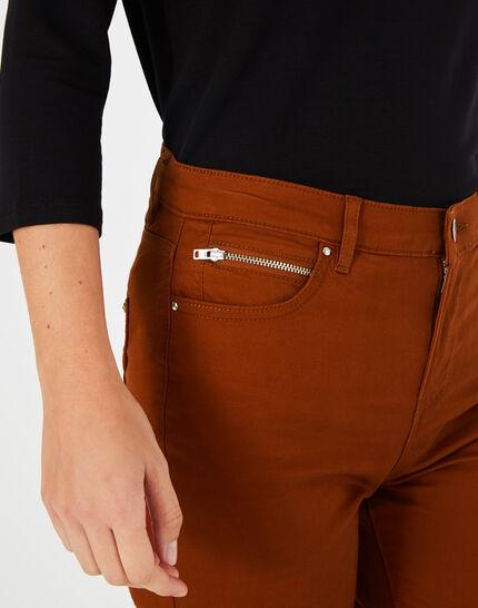 Toffeefarbene Slim-Fit-Jeans William (3) - 1-2-3