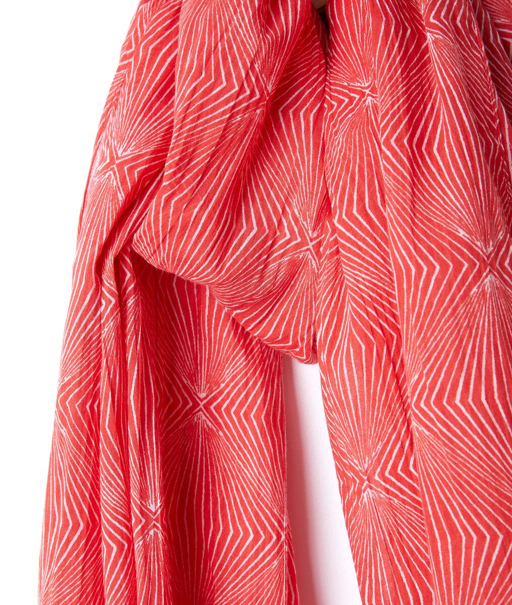 Foulard en coton imprimé Beth PhotoZ | 1-2-3