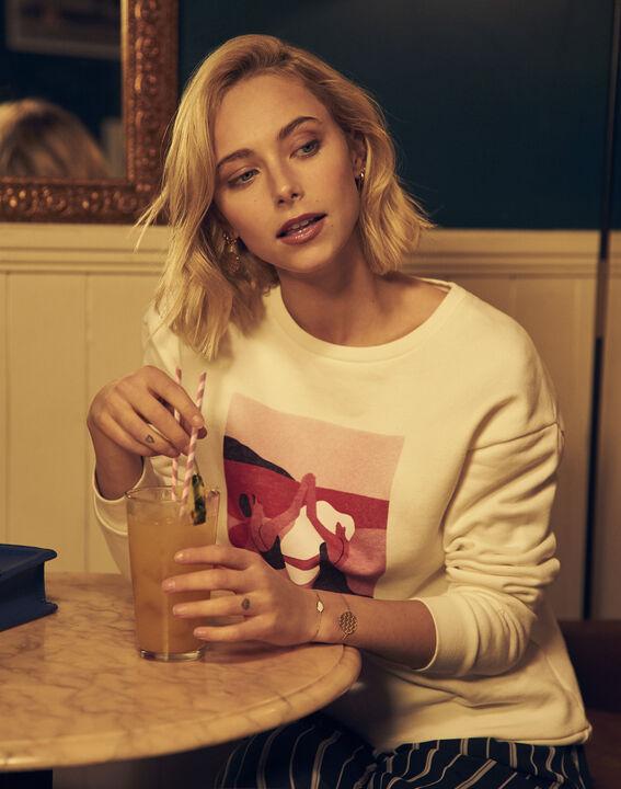 Sweatshirt ecru Internationaler Frauentag PhotoZ | 1-2-3