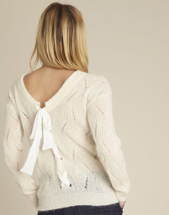 Mohair jumper with lace-up back (4) - 1-2-3