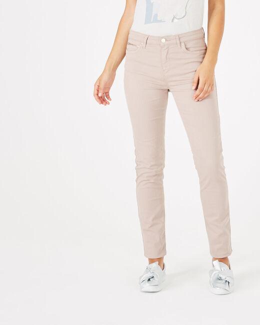 Pantalon slim rose pâle William (1) - 1-2-3