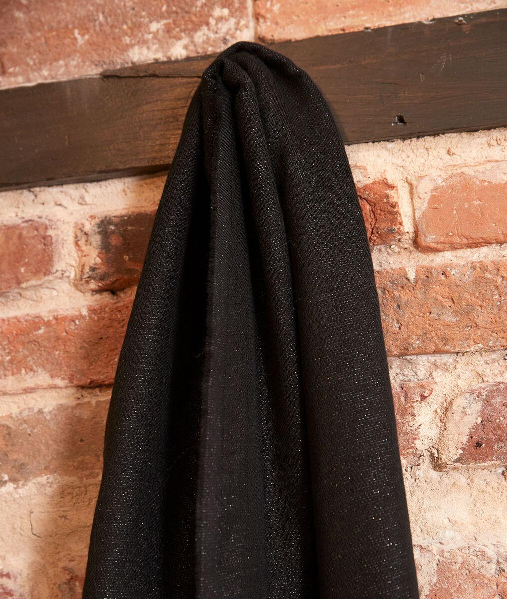 Foulard brillant noir Hanais PhotoZ | 1-2-3