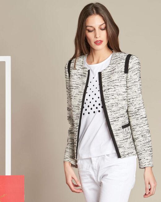 Clelia jacket with grosgrain detailing (2) - 1-2-3