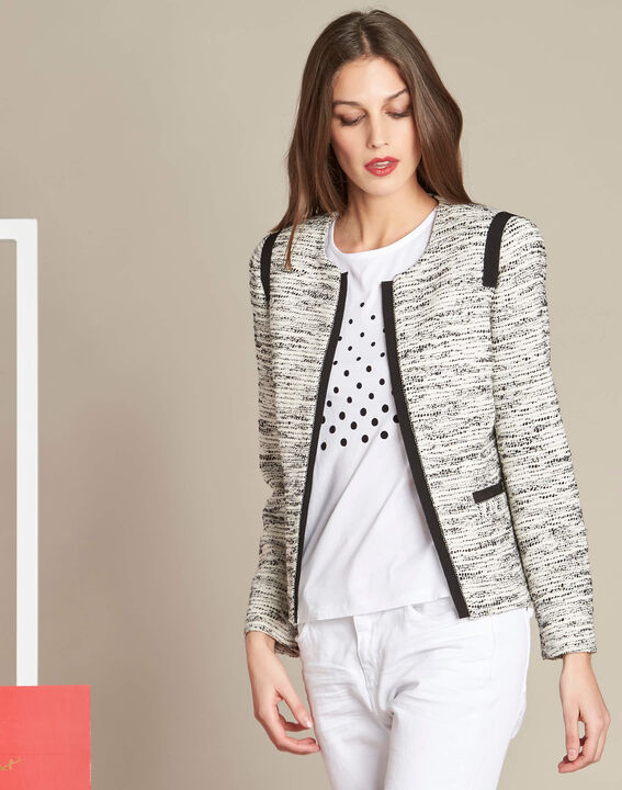 Clelia jacket with grosgrain detailing (3) - 1-2-3