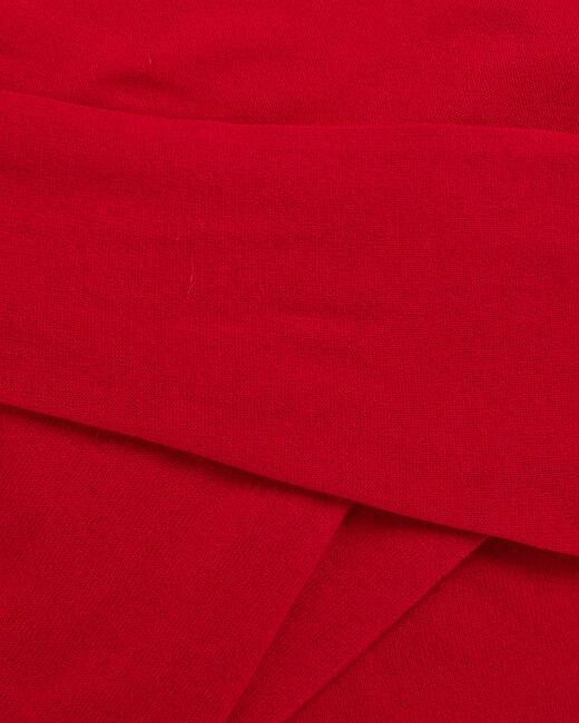 Echarpe rouge en cachemire Tournesol (2) - 1-2-3
