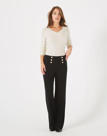 Pantalon à pont noir Valeur (2) - 1-2-3