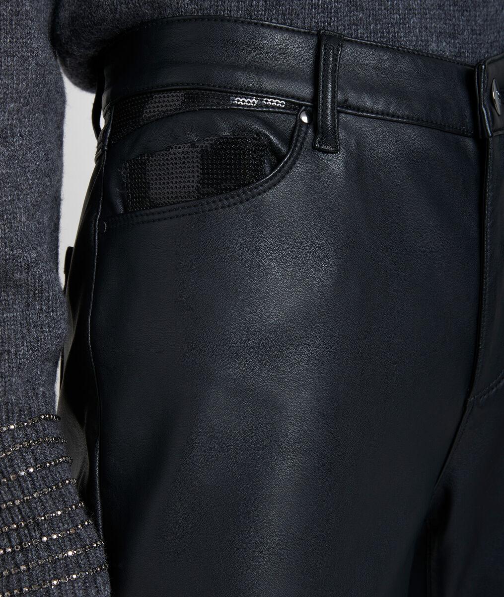 Pantalon slim faux cuir Maya PhotoZ | 1-2-3