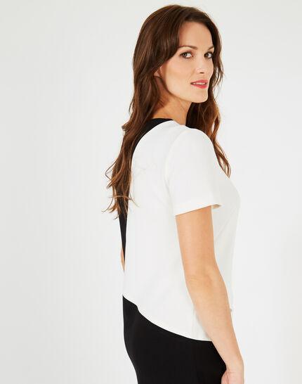 Ambre black and white graphic dress (3) - 1-2-3