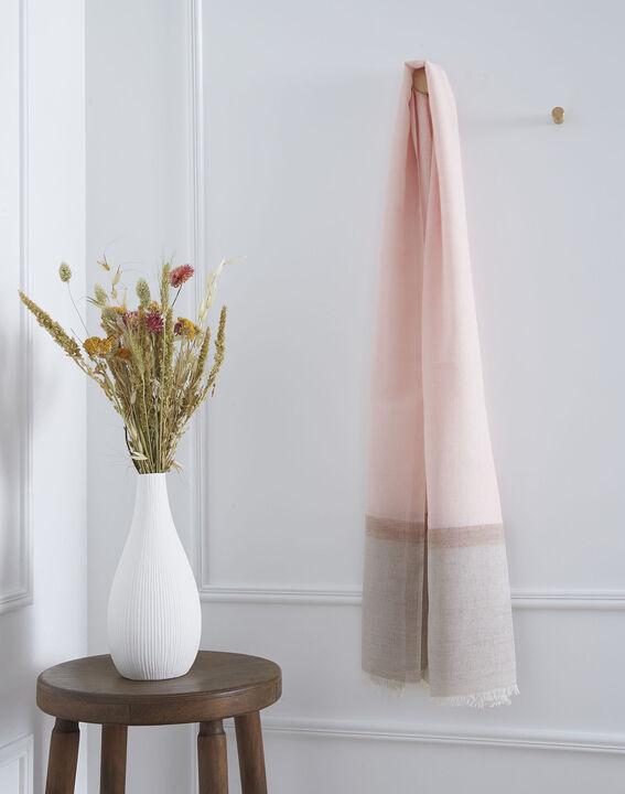Foulard poudre coton et laine Opera (1) - 1-2-3
