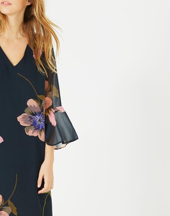Robe imprimée fleurs Astrid (3) - 1-2-3