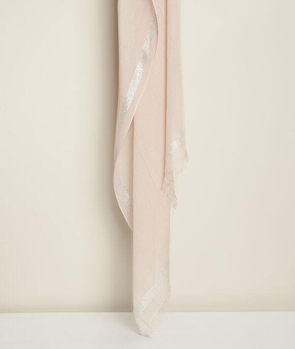 Foulard nude lurex Orelia PhotoZ | 1-2-3