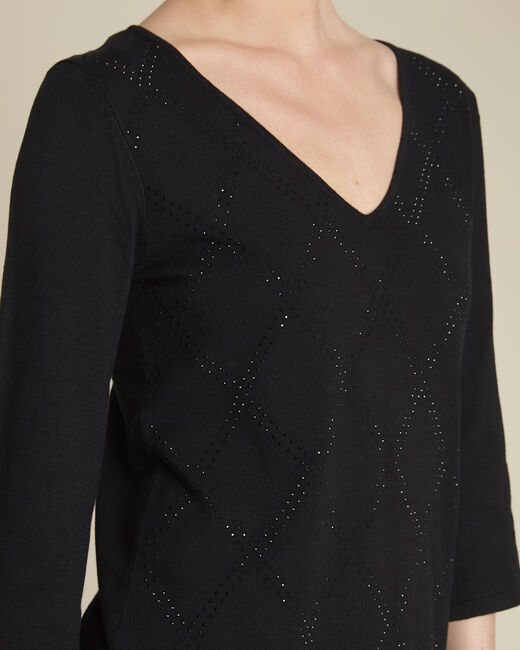 Brille black rhinestone tunic (2) - 1-2-3