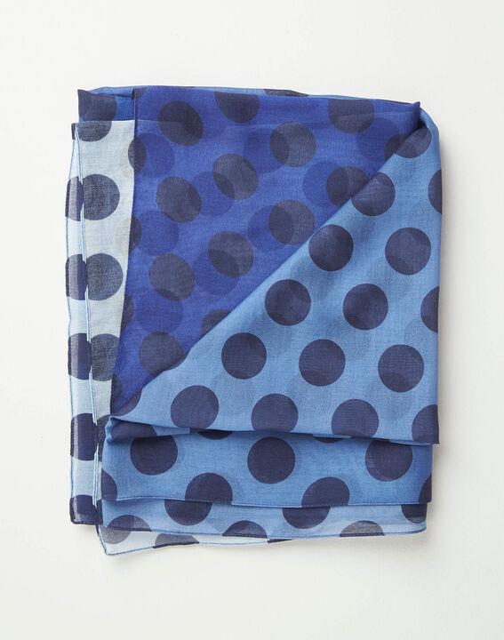 Amandina polka dot faded-effect scarf PhotoZ | 1-2-3