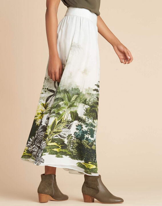 Lucius long jungle print skirt (3) - 1-2-3