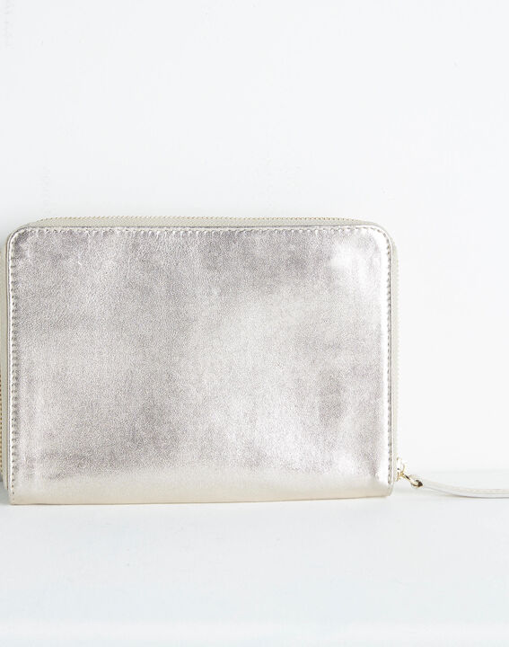 Darling grained leather bag with chain (4) - 1-2-3