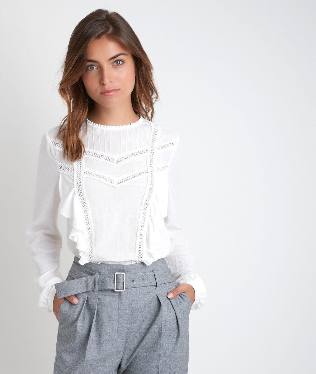 Kanten blouse Jasmine PhotoZ   1-2-3