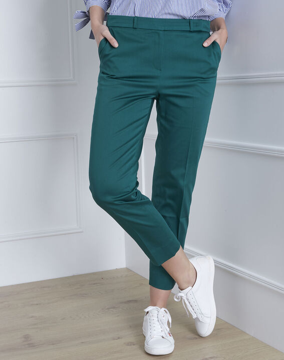 Pantalon vert cigarette Rubis (2) - 1-2-3