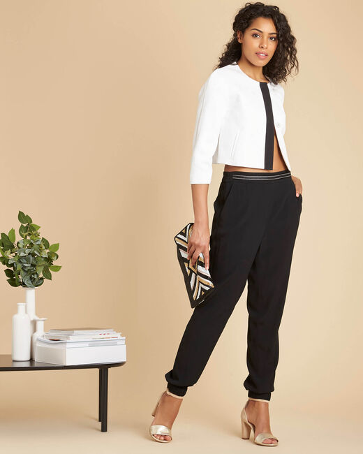 Pantalon noir cigarette Scoty (1) - 1-2-3