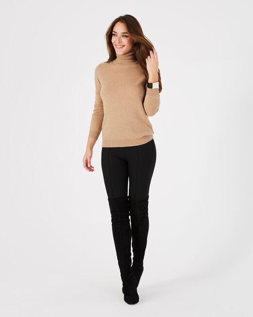 Pantalon de tailleur noir fuselé Vitamine (1) - 1-2-3