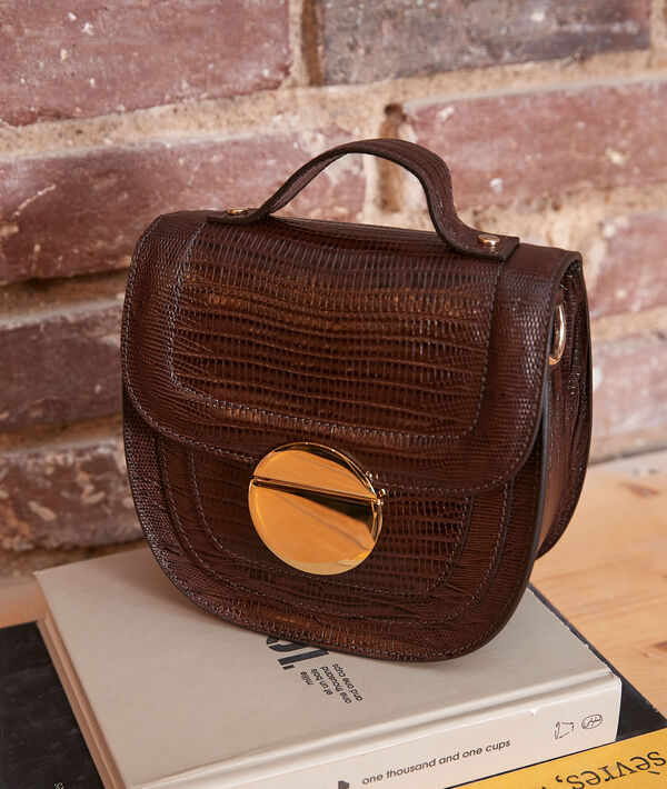 Le numéro 8 : sac iconique chocolat PhotoZ   1-2-3