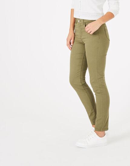 Pantalon kaki 7/8ème Oliver (3) - 1-2-3