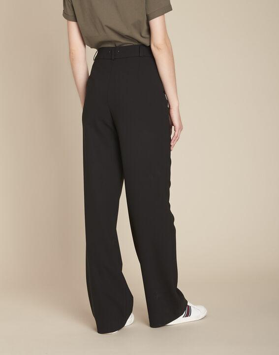 Pantalon noir à ponts Hubert (4) - 1-2-3