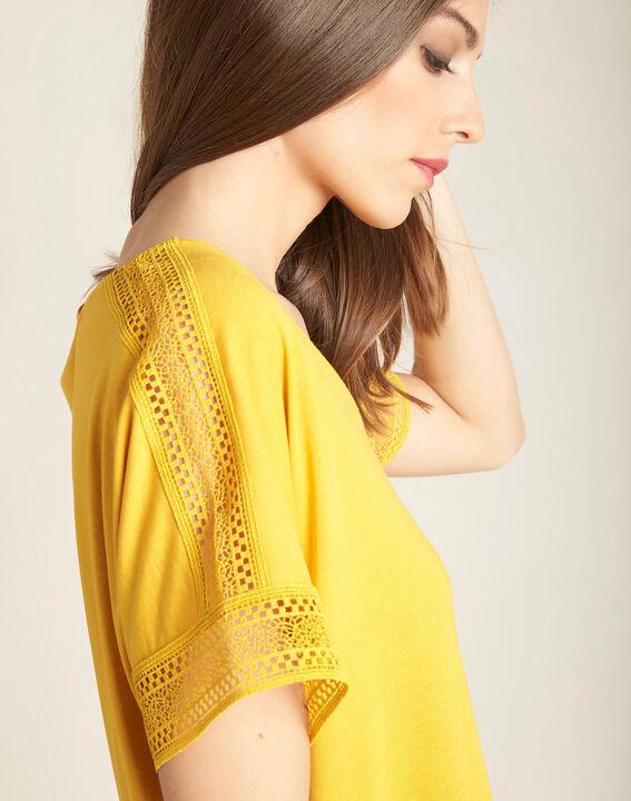 Estelle yellow lace T-shirt PhotoZ | 1-2-3