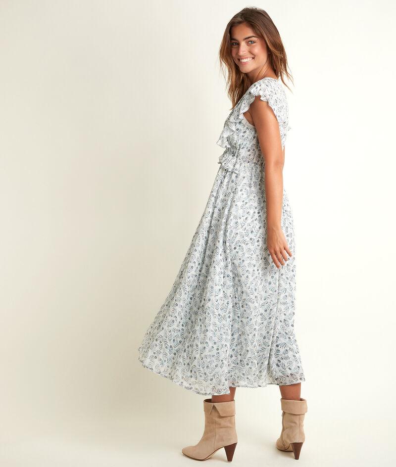 Lange jurk met print Nora PhotoZ   1-2-3