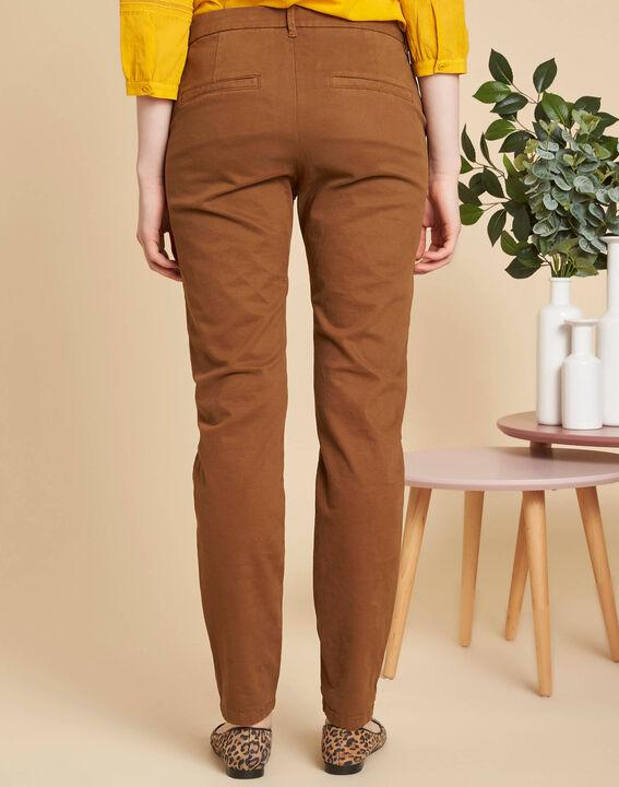 Pantalon marron chino Valentin (4) - 1-2-3