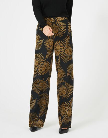 Pantalon imprimé floral Kara (3) - 1-2-3