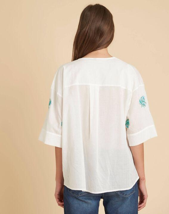 Ecru overhemd met borduurwerk Galadriel (4) - 37653