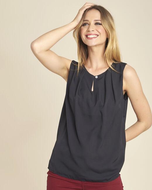 Fanette sleeveless black top (2) - 1-2-3