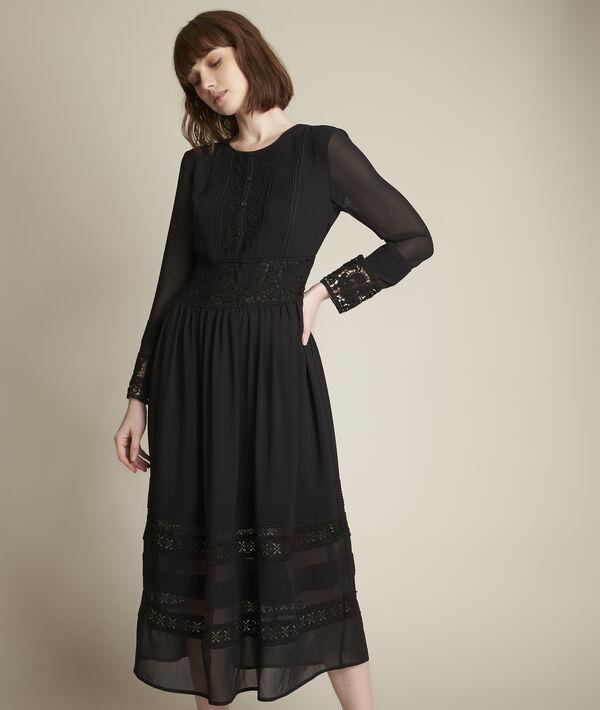 Robe longue en dentelle Charlotte PhotoZ | 1-2-3