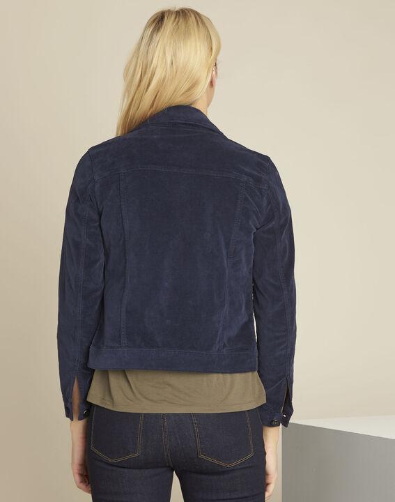 Clem navy velvet jacket (4) - 1-2-3