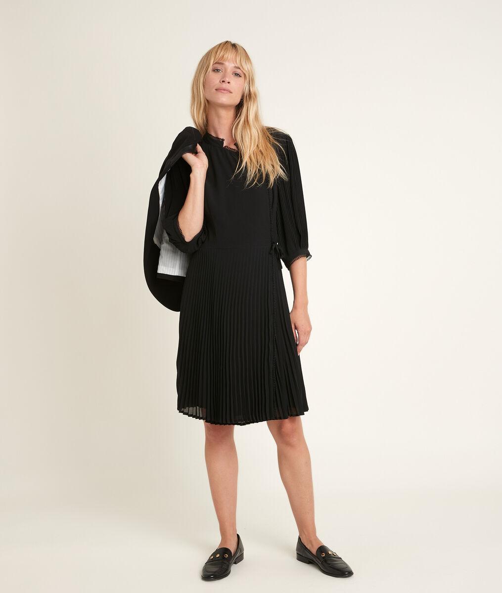Robe portefeuille plissée Carline PhotoZ | 1-2-3