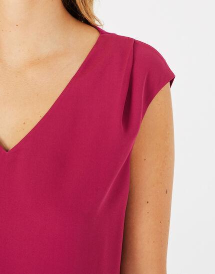 Tee-shirt fuchsia Neptune (1) - 1-2-3