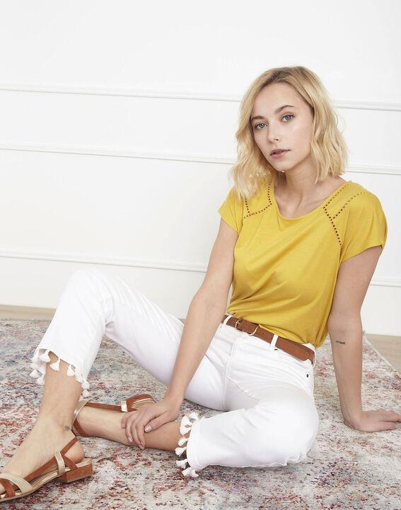 Tee-shirt jaune jour échelle Provence (1) - Maison 123