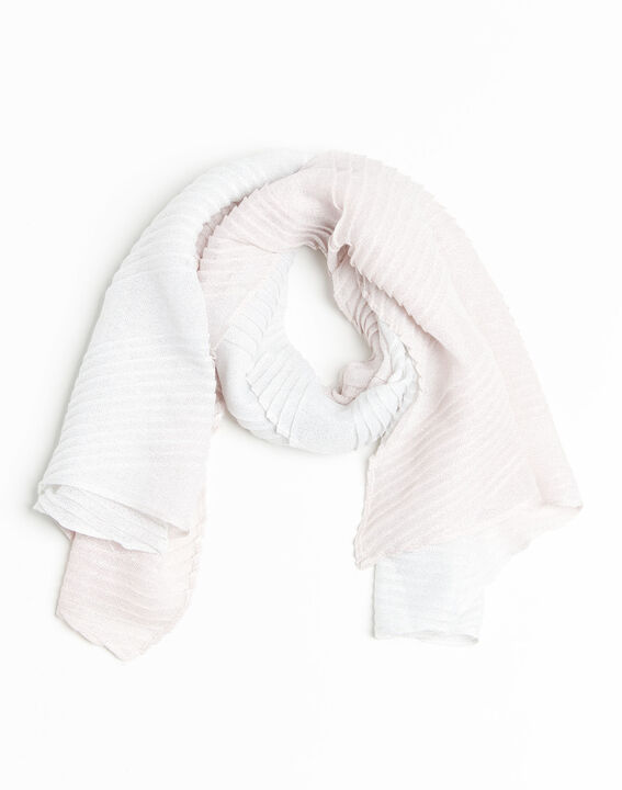 French iridescent nude scarf PhotoZ | 1-2-3