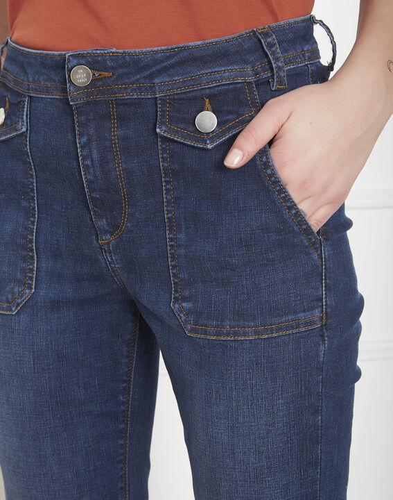 Jean indigo slim poches Charles (3) - Maison 123