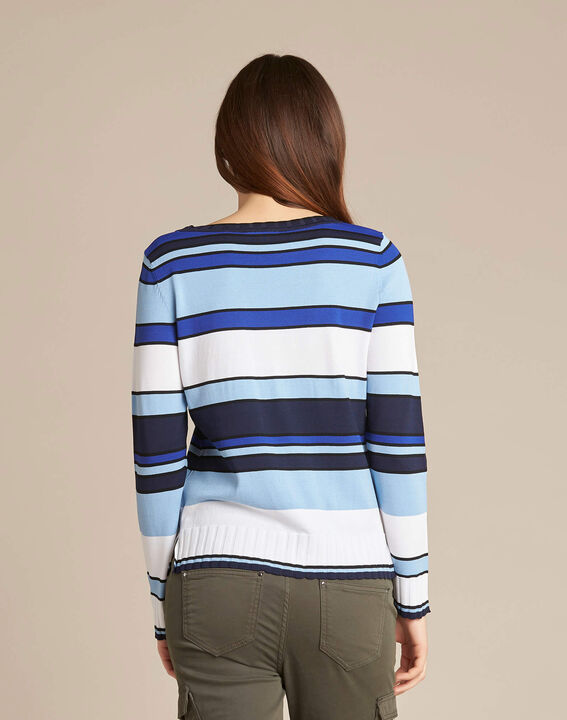 Newave blue striped sweater (4) - 1-2-3